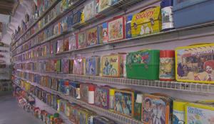 Childhood memories preserved at the Lunchbox Museum