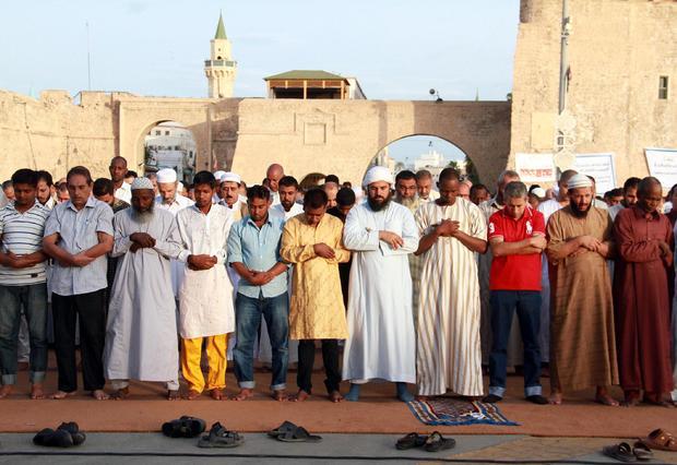 LIBYA-RELIGION-ISLAM-EID