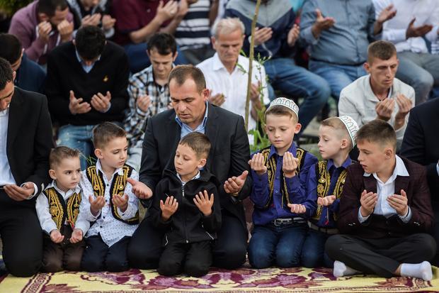 KOSOVO-RELIGION-ISLAM-EID