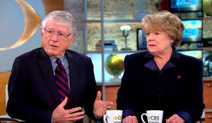 Ted Koppel and wife Grace Anne on living with COPD