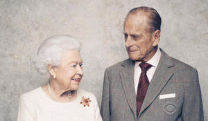 Queen Elizabeth and Prince Philip celebrate their 70th anniversary