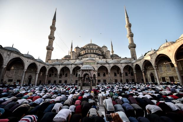 The most heavily Muslim countries on Earth