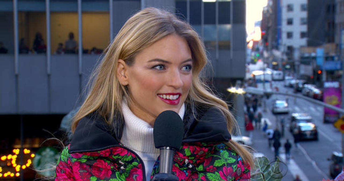 Victorias Secret Fashion Show 2017 >> Martha Hunt on walking the Victoria's Secret fashion show - CBS News