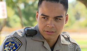 Once homeless, rookie cop has a lot to be thankful for