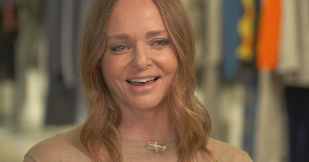 stella mccartney fashion with a conscience cbs news. Black Bedroom Furniture Sets. Home Design Ideas
