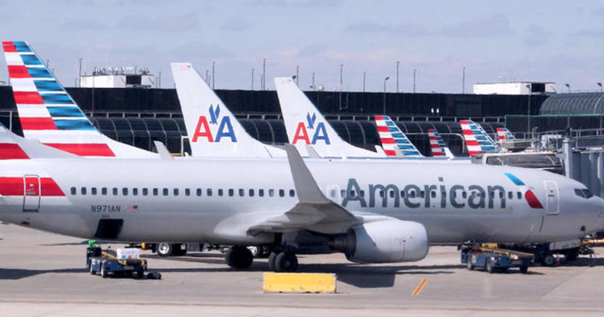 american airlines scheduling glitch could impact 15k flights cbs news