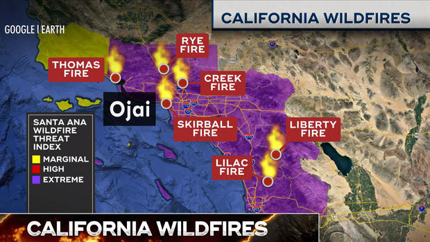 California Fires Updates Latest News On Wildfires Raging In Los