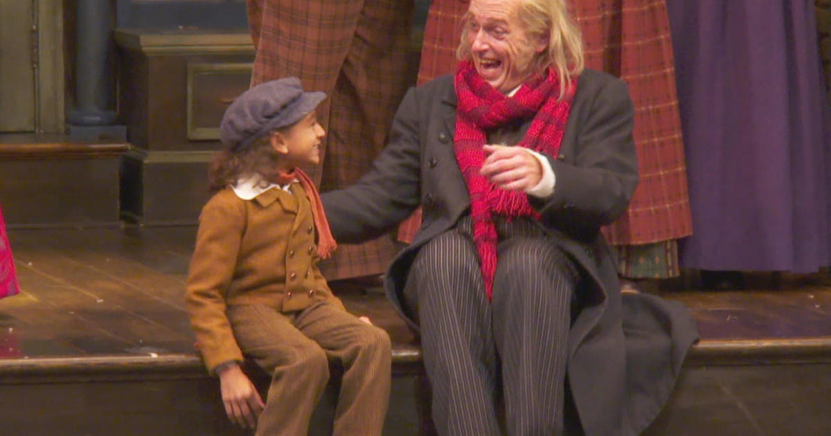Tiny Tim A Christmas Carol.A Christmas Carol With Its Own Little Miracle Cbs News