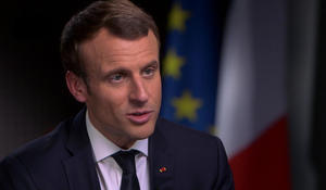 """Macron says it was """"aggressive"""" for U.S. to decide to leave Paris climate accord"""