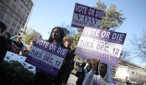 Roy Moore, Doug Jones rally supporters in Alabama Senate race