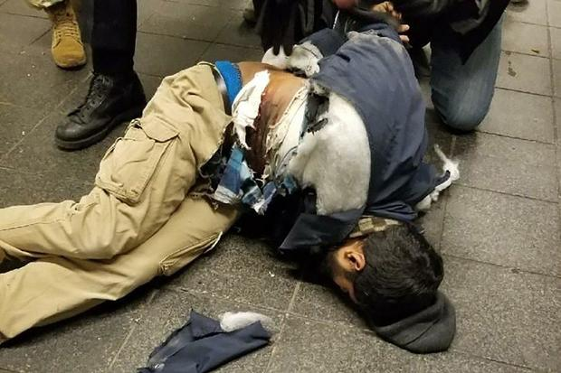 new york city attack suspect port authority bus terminal
