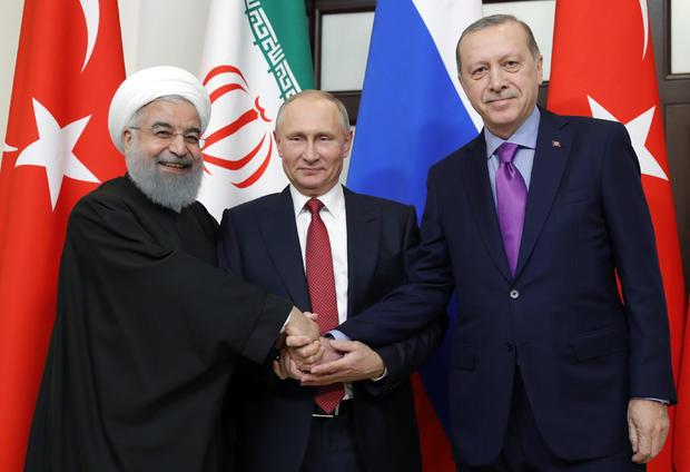 RUSSIA-TURKEY-IRAN-SYRIA-CONFLICT-POLITICS-DIPLOMACY