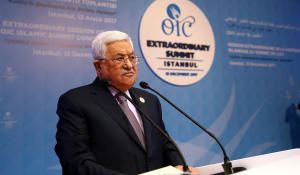 Palestinian leader: No role now for U.S. in peace process
