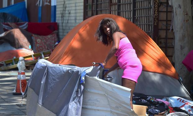 US-HOMELESSNESS-CALIFORNIA-VETERANS
