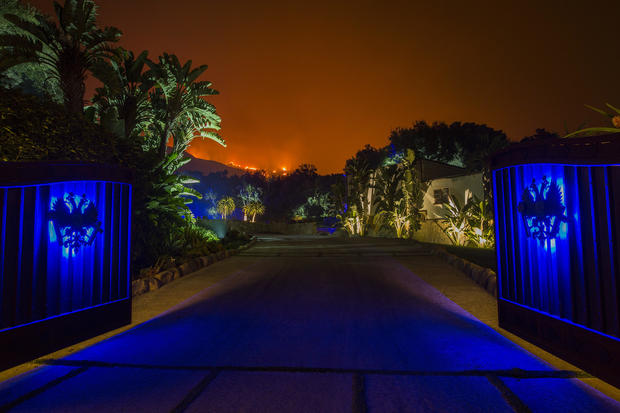 Massive Thomas Fire Threatens Santa Barbara County