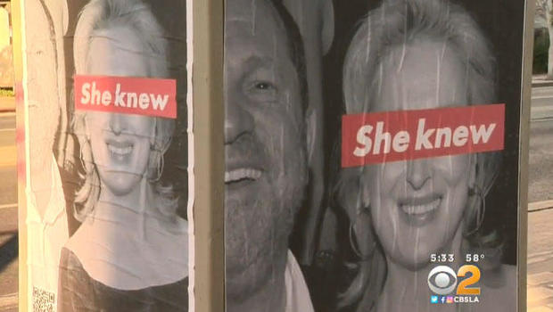 Meryl Streep Targeted by Street Artists With