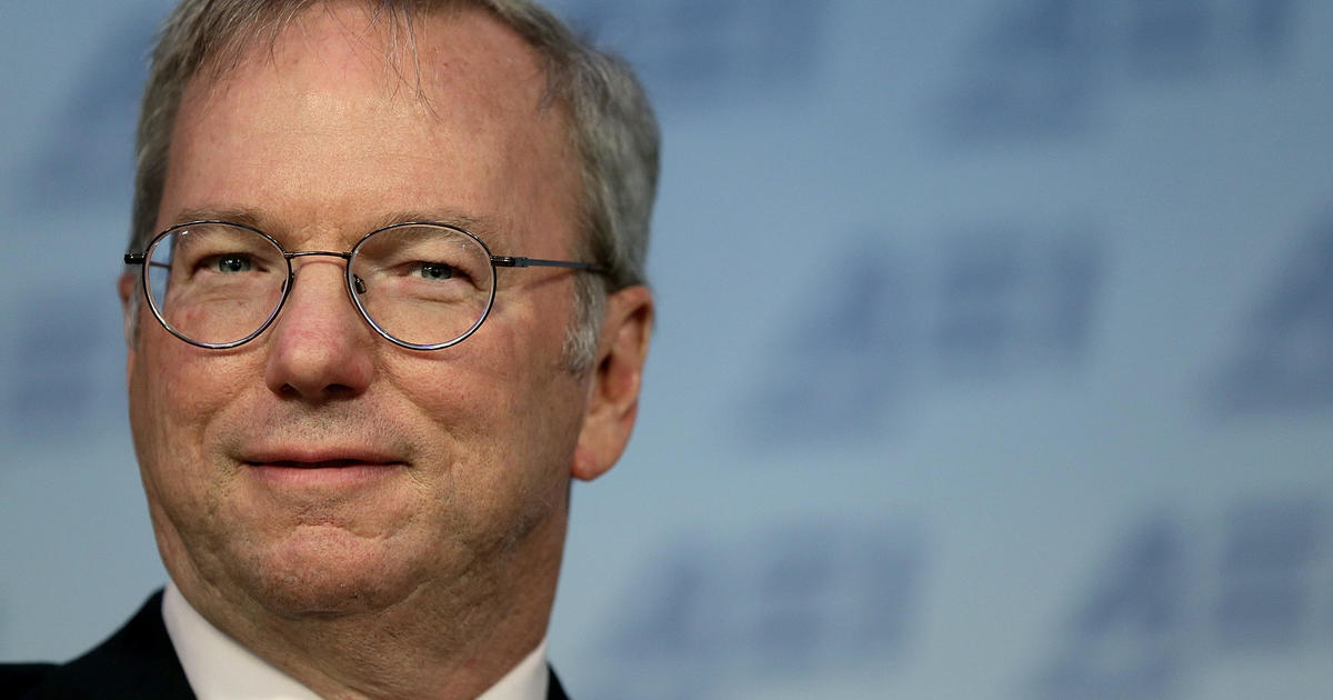 Tech giant Eric Schmidt warns China is catching up to U.S. in A.I.