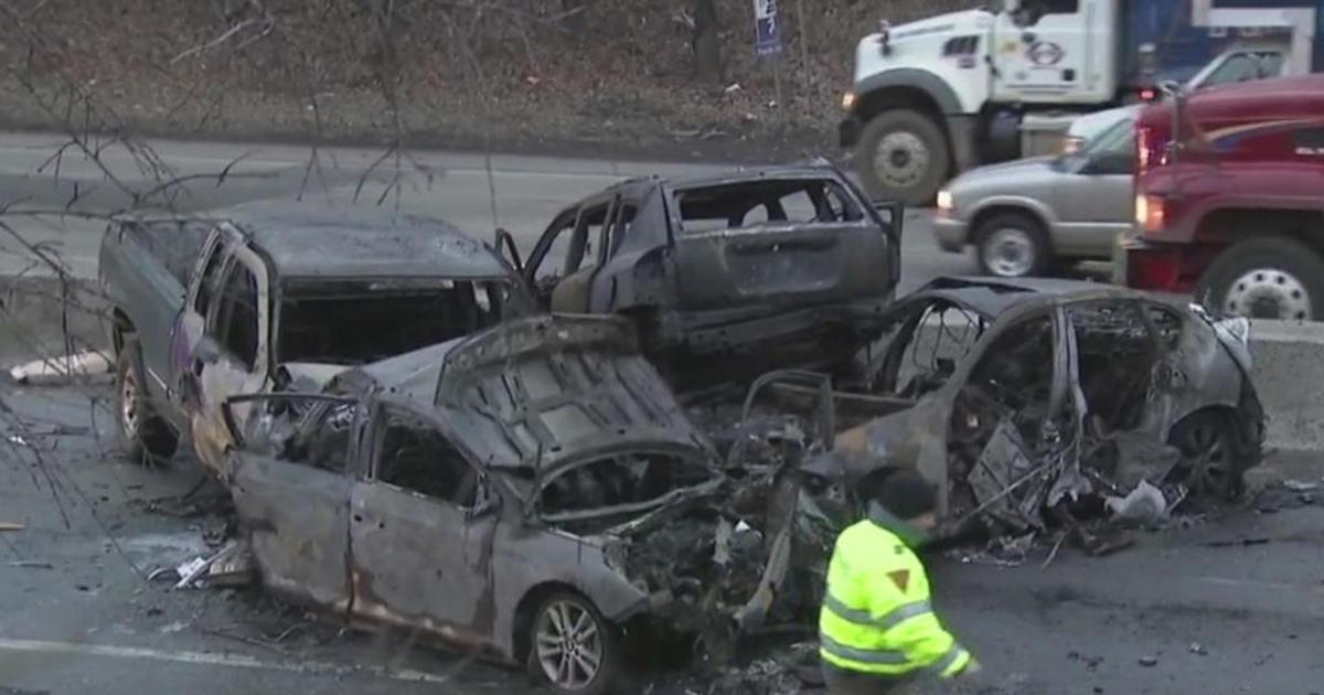 2 killed, several injured in fiery multi-car crash in N.J.