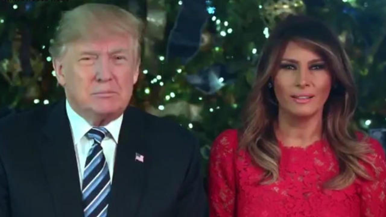 Trump 2021 Christmas Message President Trump And First Lady Release Christmas Day Video Message Cbs News