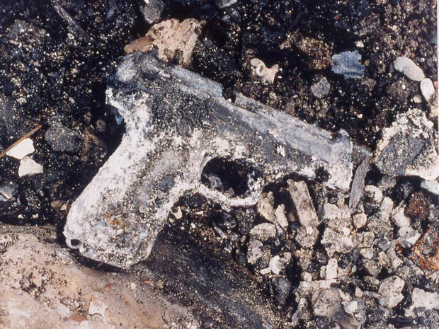 Gun found in Waco aftermath
