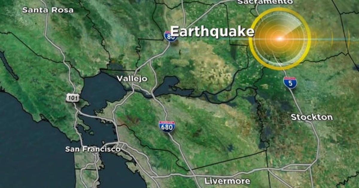 Earthquake Near Uc Berkeley Campus Rocks San Francisco Bay Area Cbs News