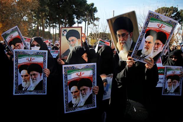 TOPSHOT-IRAN-UNREST