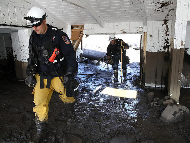 Deadly California mudslides