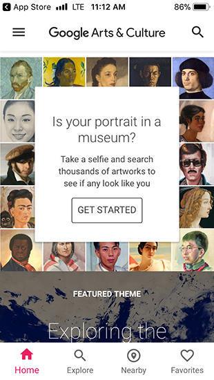 meet your match google app finds famous art you look like cbs news
