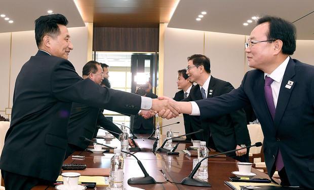 Koreas Hold Additional Talks on PyeongChang Olympics