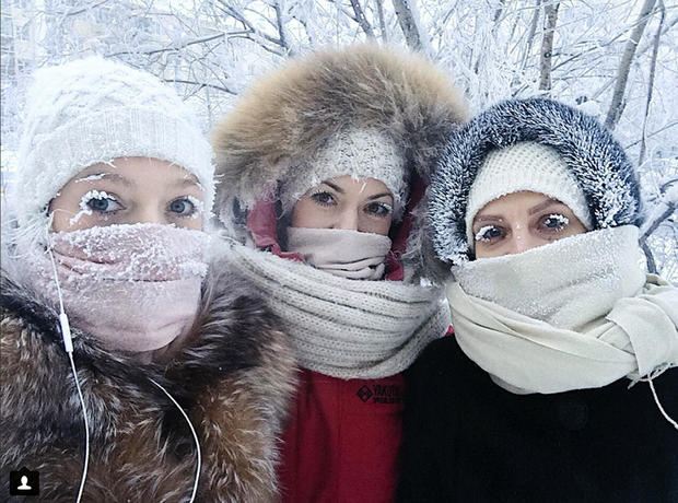 Russia Cold Weather
