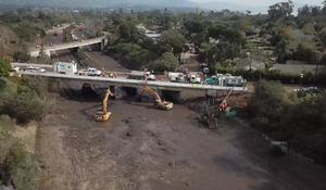 Devastated by mudslides, Montecito has nowhere for debris and more rain is on the way