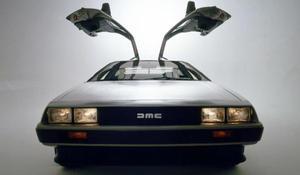 The DeLorean car