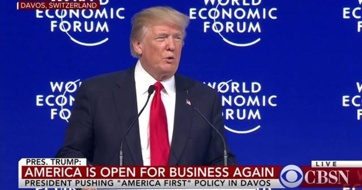 Trump at Davos: America First, not America Alone