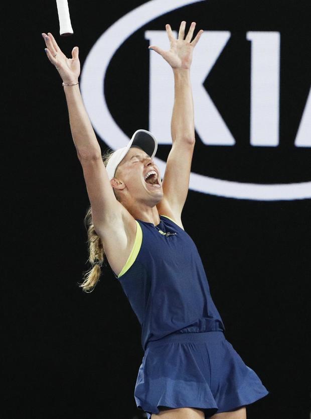 Tennis - Australian Open - Women's Singles Final - Rod Laver Arena, Melbourne, Australia