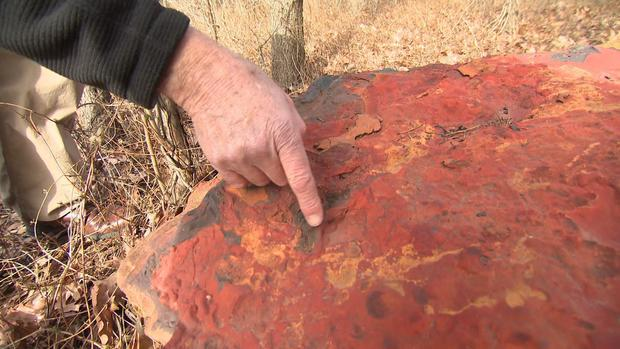 Scientist finds dinosaur tracks in NASA's actual backyard