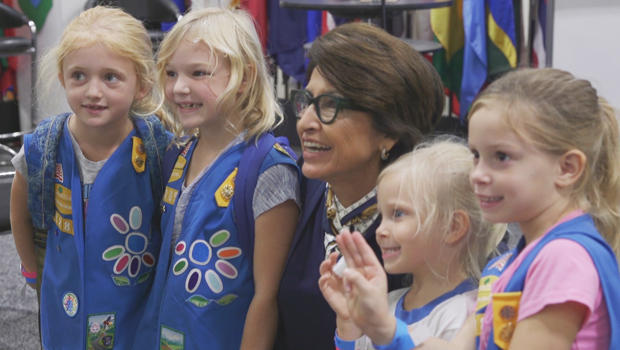 the changing face of the boy scouts   cbs news