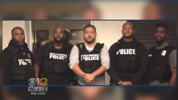 Corrupted Baltimore City Police