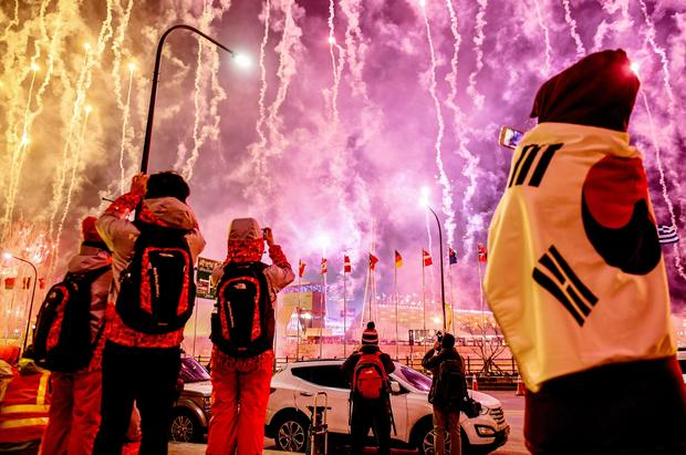 Spectacle and fireworks at Winter Olympics Opening Ceremony
