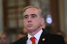 VA Secretary David Shulkin Testifies At Senate Veterans' Affairs Committee On Suicides Among Vets