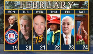 Week of February 19