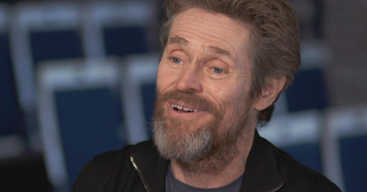 Willem Dafoe: The actor's quest for challenges - CBS News