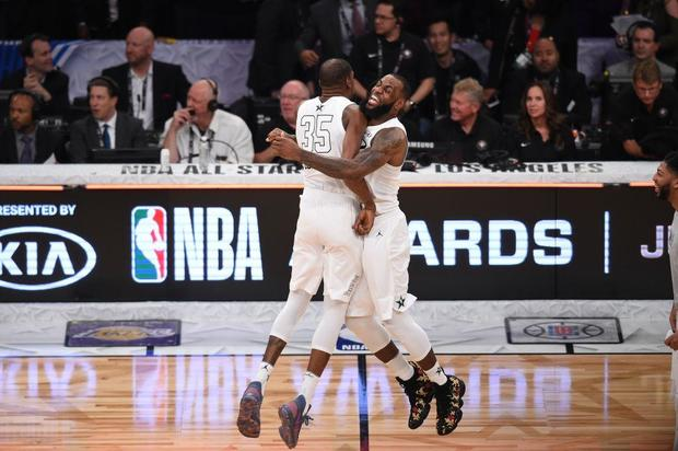 NBA All-Star Game 2018  Team LeBron defeats Team Stephen - CBS News a17e6272f