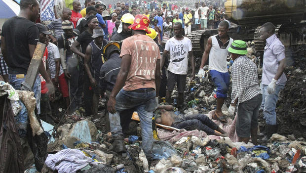 Mozambique Garbage Collapse In Maputo At Hulene Dump