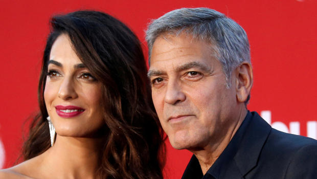 George & Amal Clooney Donate $100,000 To Help Migrant Children