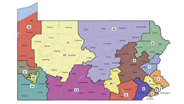 Drawing The Lines On Gerrymandering Cbs News - Us-house-of-representatives-missouri-district-map