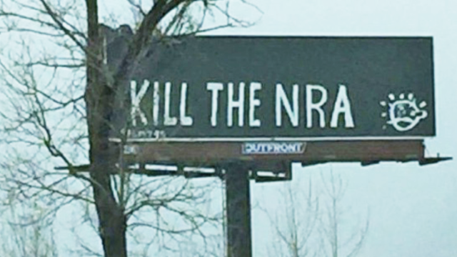 Kill the NRA billboard
