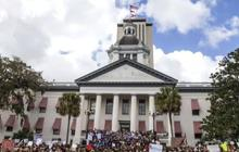 Parkland students call for gun safety laws at Florida Capitol