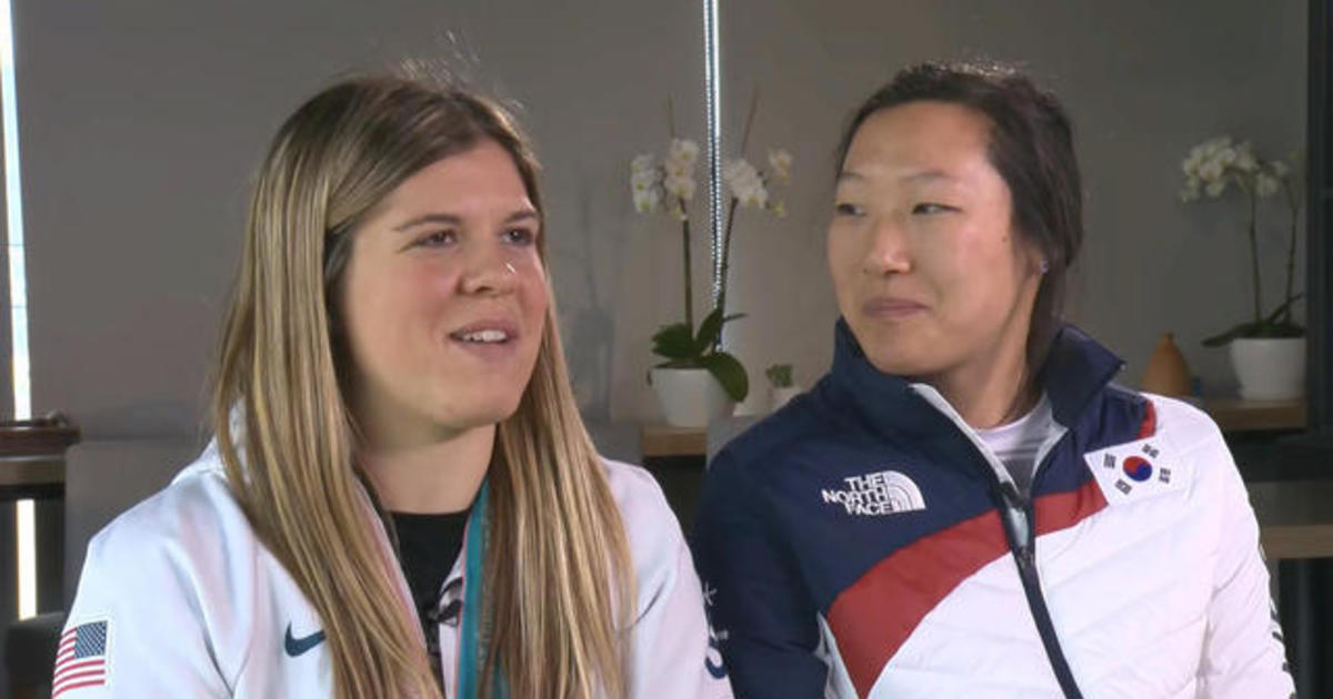 Brandt sisters share their Olympic memories - CBS News