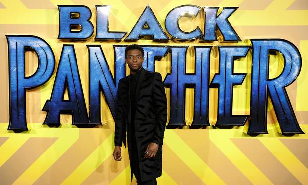 Chadwick Boseman -- black panther