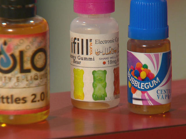 Concerns over health effects of vaping - and rising use among teens
